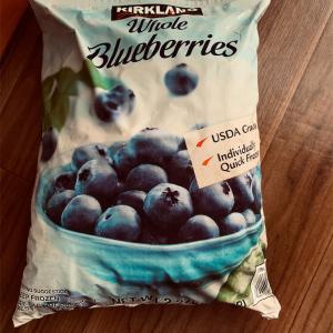 ブルーベリー食べるなら冷凍が激安だよ!!コストコ