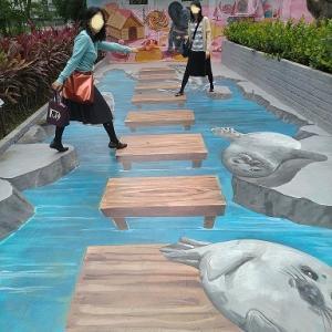 壁画アート 台湾