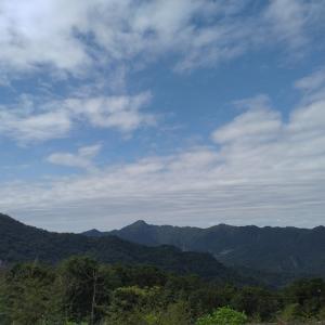 台湾 山の景色