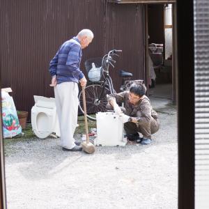 DIYで交換したトイレの処分は?