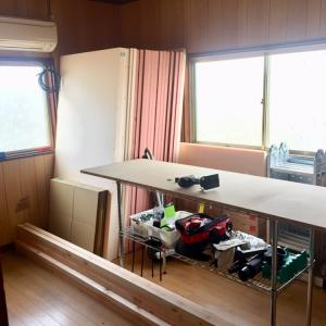 DIY作業台をDIY