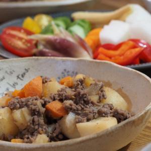 ラク家事のススメ。カット野菜で簡単料理。