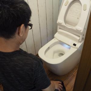 ショック!!トイレ壊れた。設置2年!