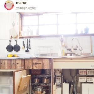 【古い流し台の下】ダイソーの○○でキッチン収納