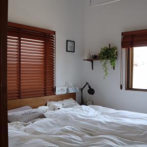DIYで作る、夫婦の寝室