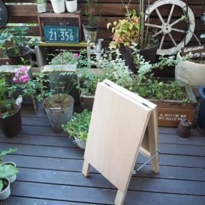 DIY!お店の看板を作ろう。