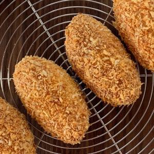料理リレー2020・ホットケーキミックスで作る焼きカレーパンレシピ