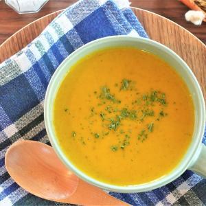 【電気圧力鍋レシピ】ほぼ切らずに作れるかぼちゃスープ