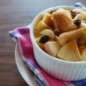 【電気圧力鍋レシピ】りんごのパンプディング