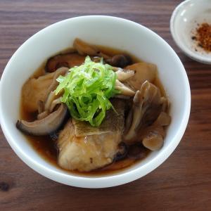 電気圧力鍋レシピ・鱈ときのこの煮物