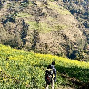 Poonhill Tek⑦ ネパールで温泉!渓流の露天風呂に癒される4日目-タダパニ〜ジヌダンダ