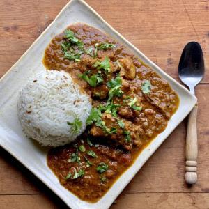 【レシピ】ポークビンダルーとジーラライスの作り方 ~ インドの柔らか豚肉カレー!