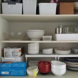 物が減ればワーママの忙しさ・ストレスは半減する?~連休中はひたすら断捨離、棚の中の整理でした