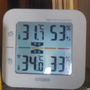 暑い一日でした・・・明日も続くようです