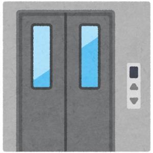 """""""近くて便利なエレベーターをつけてほしいなあ…""""…(電信電話記念日)"""
