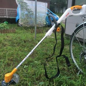 電動草刈り機(充電式)を使ってみた