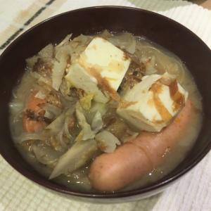 味噌汁などのスープものは温活・冷えとりの味方