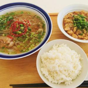 島のカンボジア料理オークン「マーボセット」