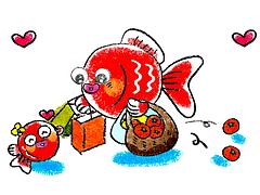 金魚島カード「夏ギフトフェア」