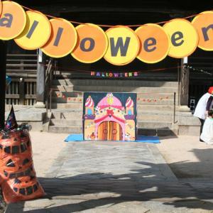 久賀保育園でハロウィンフェスティバル