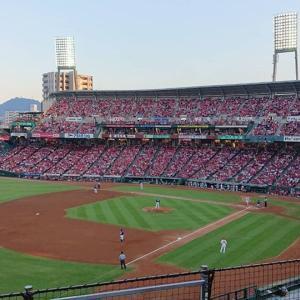 金魚島カードのプロ野球観戦バスツアー