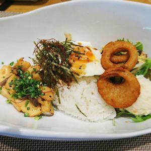 グリーンステイながうらの絶品ハワイ料理「フライドポキボウル」