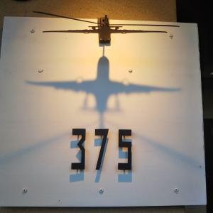 【福岡中央区大宮】カフェバー375|飛行機愛が止まらないオーナーこだわりの店