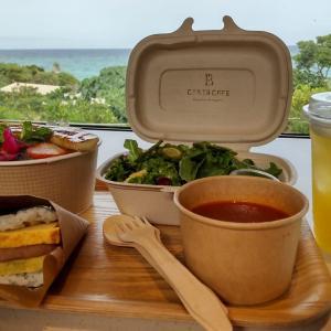 【沖縄読谷村】「星野リゾート バンタカフェ」海辺の絶景カフェで朝食を