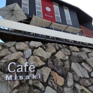 【山口周防大島】海の見えるカフェ「ミサキ」でスイーツを食べる