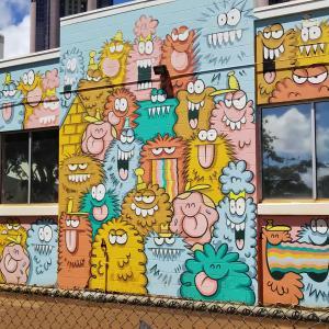 【カカアコの壁画アート】SNS映えの撮影スポットを紹介