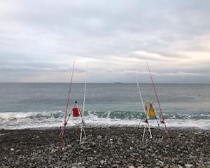 2019/1/12   王子ケ浜で初釣り