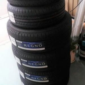 タイヤが値上げ・・・。 GDフィット部品入荷