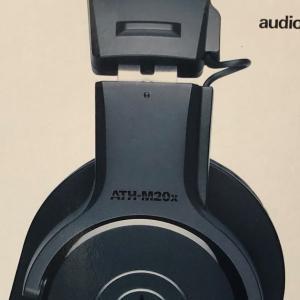 安いけど、自然でしっかりとした音質!ATH-M20x