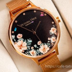 ヴィクトリア・ハイド ロンドンの腕時計を買った