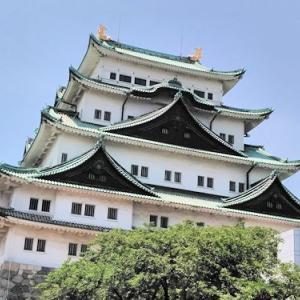 名古屋城&ギャラリーblanka(色鉛筆画個展)