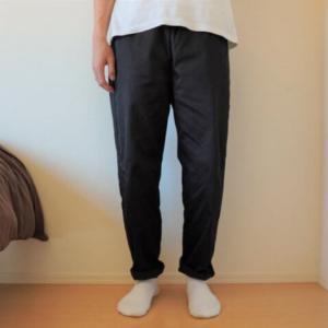 【レビュー】GUのシェフパンツが兼用部屋着に最高で思わず購入した