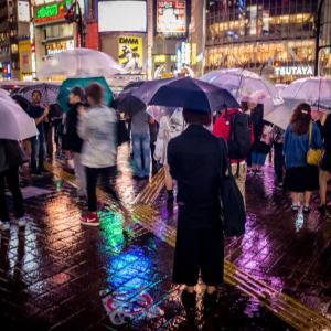 雨の日+マニュアルレンズの辛さ