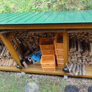 薪にエゾヤチネズミの駆除