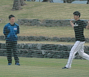 大谷翔平選手のスナップ