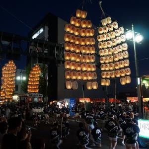 思い出の東北五大祭りの旅~秋田竿燈まつり