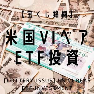 【宝くじ銘柄】米国VIベアETF投資の状況(2020.10.24)