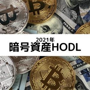暗号資産HODL(2021年初期値)