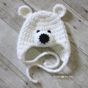 頭周りに合わせて-超絶かわいい♡ベビーの耳付きかぎ針編み帽子を編んでみよう♪