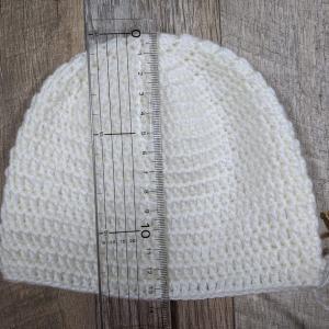 寸法調整しながら希望サイズで編む !長編みのベビーかぎ針編み帽子の編み方