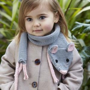 とってもかわいい♡子供の手編みのマフラーデザイン参考まとめ