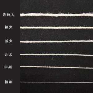 毛糸の太さメーカー各社の分類一覧