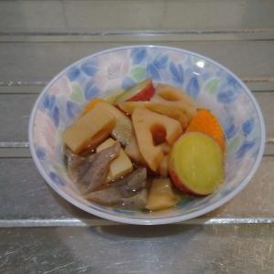 7種類の野菜の煮物をお供え(レシピなし)