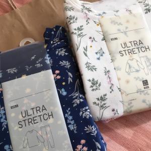 ユニクロの花柄パジャマが1,290円(税抜)