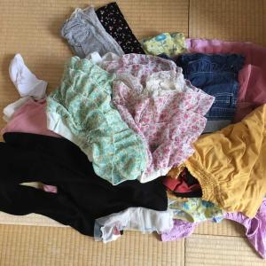 夏の終わりに夏物子供服のいる、いらない?したらスッキリしました。