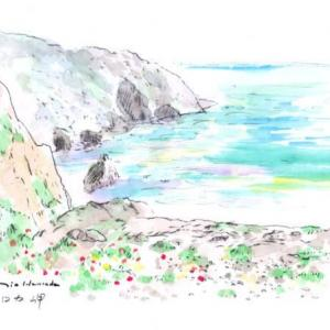 ロカ岬 世界わがスケッチの旅 ポルトガル
